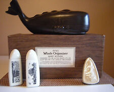 MENS DEEP WOODS COLOGNE AFTER SHAVE SOAP WHALE BUREAU ORGANIZER & BOX BY AVON