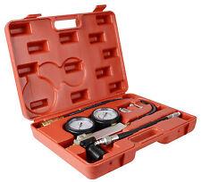 Cylinder Leak Leakage Detector Test Petrol Engine Compression Tester Tool Kit