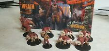 The Others: Wrath CMON miniatures box 7 Sins - PAINTED