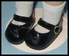 "BLACK Patent SHOES for 10"" PATSY Ann Estelle 14"" Madame Alexander BITTY BETHANY"