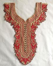 Bordadas con encaje Floral Escote Cuello Cuello Ajuste Costura Motivo Apliques Parches