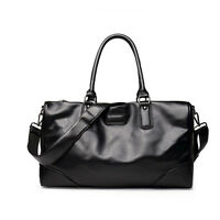 Travel Bag Large Fashion Mens Leather Duffle Luggage Weekend Gym Overnight