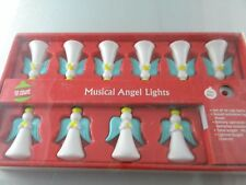 LED MUSICAL ANGEL Christmas String Lights Hark the Herald Sings 10cnt
