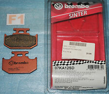 2 plaquettes de frein Arr. BREMBO Yamaha YZ WR 125 250 400 Kawasaki KX Suzuki RM