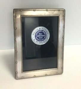 Vintage Hallmarked Silver Sterling Carrs Of Sheffield Photograph Frame  #221