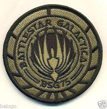 BSG Battlestar Galactica Vel-kro Patch - BSG44V