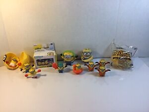 Gone Batty Minions Micro Minion Playset And Collectable Figures Figurines Used