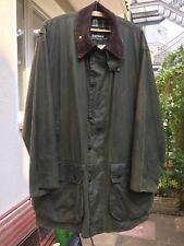 Barbour Herren Wachsjacke  BORDER Gr.C44/112CM(L-XL) Oliv. Jacke Jacket