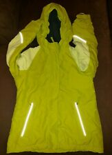 Lands' End Kids The Squall Small 7-8 Waterproof Winter Coat Yellow