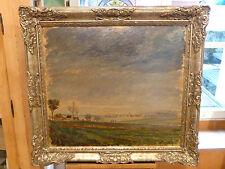Giulio Beda Ölgemälde Dachauer Maler Schwabhausen 1935 Landschaft Ölbild
