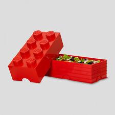 Lego Storage Brick 4er rot Aufbewahrungsbox Kiste Dose