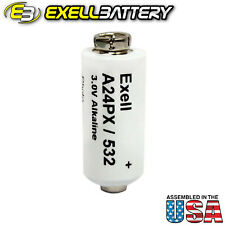 Exell Battery A24PX fits Polaroid A24PX 335, 350, 360, 450, M80, Countdown 90