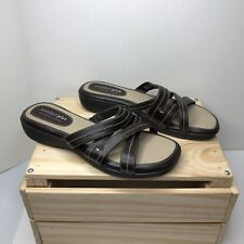 Comfort Plus By Predictions Womens Sandals Size 8 Brown 75962 Worn Once See Pics