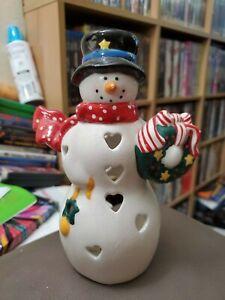 Hallmark Snowman Tealight Incense Holder