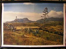 Schulwandbild Spain Castilia Spain 72x50cm Vintage Wall Chart ~ 1960