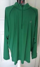 GANDER MOUNTAIN PERFORMANCE MEN'S PULLOVER - GREEN - SIZE XL - LONG SLEEVE