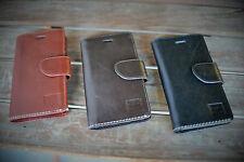 Handmade iPhone 6/6S Case Genuine Real Leather in Rich, Tan, Dark Brown or Black