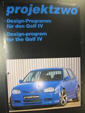 Brochure Projektzwo Design-Programm für den VW Golf lV ( Volkswagen Golf lV ) #2