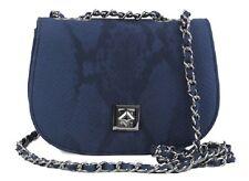 R+J Ryleigh Crossbody Handbag Chic Collection Color: Blue