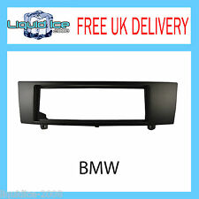FP-06-06 BMW 1 SERIES 3 SERIES BLACK FASCIA FACIA ADAPTOR PANEL SURROUND STEREO