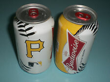 PITTSBURGH PIRATES 2013 BUDWEISER BEER CAN - BO - NEW