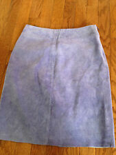 Express - purple suede skirt size 1/2