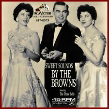 """7"""" THE BROWN The Three Bells (Les Trois Cloches) / Scarlet Ribbons RCA USA 1959"""
