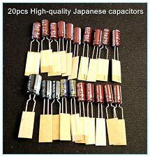 Sega Game Gear 20 Capacitors Repair Kit Fix Sound & Dim Screen USA Shipping BEST