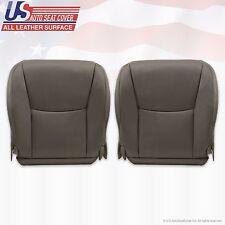 2003 Lexus GX470 Driver & Passenger Bottom Replacement Leather Cover Dark Gray