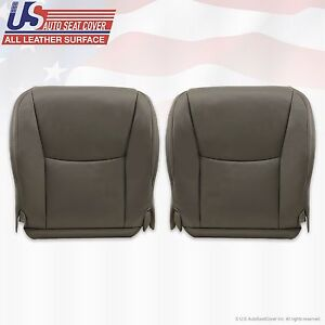Fit 2003 Lexus GX470 Driver Passenger Bottom Replacement Leather Cover Dark Gray