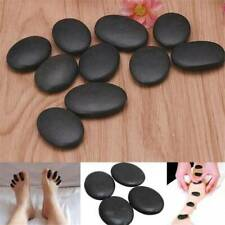 Hot Stone Massage Kit Basalt Rock Stones Relaxing Spa Treatment At Home KS