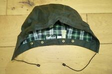 Vintage Barbour 1988 A88 Style XL Waxed Cotton Hood Wired Green