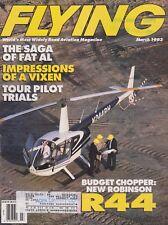 Flying Magazine (Mar 1993) (Robinson R44, Fat Albert C-130, Boeing 747, Kitfox)