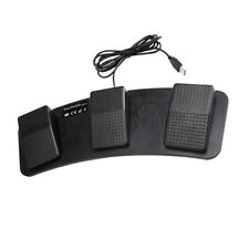 Programmable Triple Foot Pedal Control Switch for Game PC Laptop
