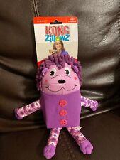 Kong Zillowz Hedgehog Purple Large Dog Toy