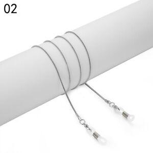 Adjustable Alloy Sunglasses Lanyard Anti-slip Glasses Chain Creative Rope ca
