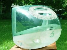 Apple iMac G3 Sage GREEN Case Housing EMPTY SHELL Cat House Project Parts