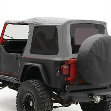 Smittybilt 9870211 Soft Top ORG.MFR Replacement w/ Tinted Window For YJ Wrangler