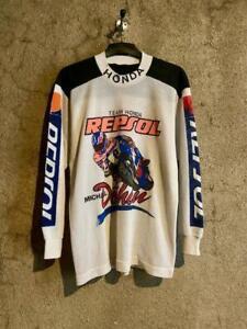 "Vintage MICHAEL DOOHAN ""team honda repsol"" motogp jersey shirt size M"
