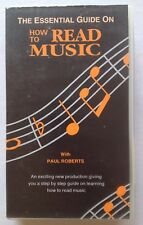 The Essential Guide On How To Read Music. Learn Notes Piano VHS Video Tape Rare