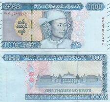 Myanmar, 1000 Kyats 2019/2020 New Issue, UNC