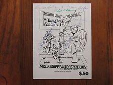 1978  Mississippi Valley St. Univ. Football Program (Signed-JAMES T. THOMAS + 7)