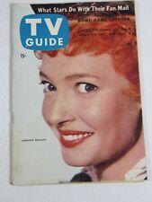 TV Guide Magazine December 29-January 4, 1956- Jeannie Carson Vintage