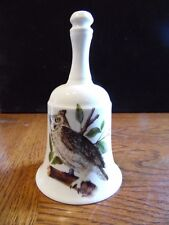 Great Horned Owl House of Goebel Bavaria W. Germany Decorative Bell