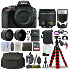 Nikon D3500 DSLR Camera with 18-55mm VR + 16GB 3 Lens Ultimate Accessory Kit