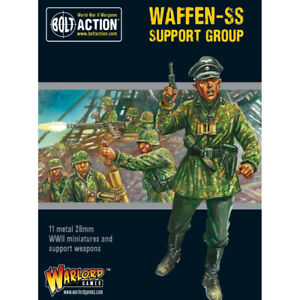 Warlord Games Bolt Action Waffen-SS Support Group (HQ, Mortar & MMG)