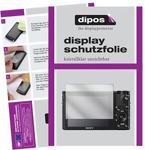 Screen Protector for Sony Cyber-Shot DSC-RX 100V Protection Crystal Clear dipos