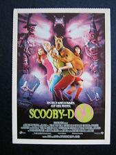 Filmplakatkarte  cinema  Scooby-Doo    Sarah Michelle Gellar