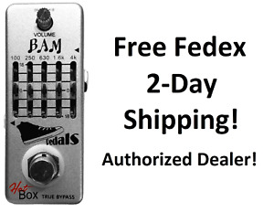 New Hot Box Pedals Bam 5-band Graphic Equalizer Guitar Effects Pedal