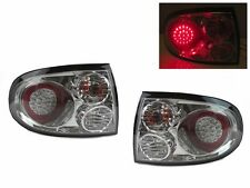 04 05 06 Pontiac GTO MONARO Clear Rear LED Tail Lights Lamp Pair + Bulbs DEPO